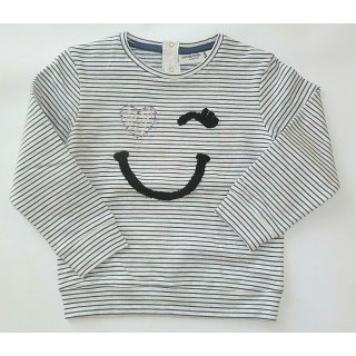 Salt and Pepper Mädchen Sweatshirt Smiley