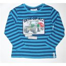 Salt and Pepper Jungen Longsleeve  104/110 Blau
