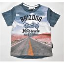 Salt and Pepper Jungen T-Shirt Motorcycle
