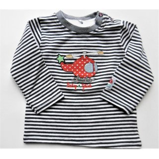Baby Glück by Salt and Pepper Jungen Langarmshirt Helikopter