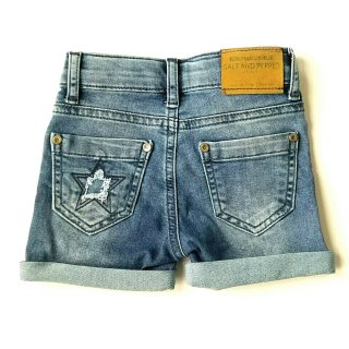 Salt and Pepper Mädchen Jeans-Shorts