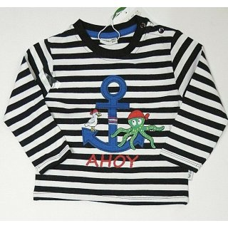 Salt and Pepper Jungen Langarmshirt Pirat