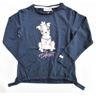 Salt and Pepper Mädchen Longsleeves Langarmshirt Hund