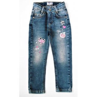 Salt and Pepper Mädchen Jeans Pailletten