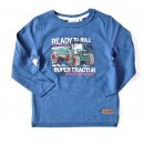 Salt and Pepper Jungen Longsleeve Traktor