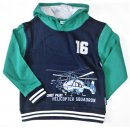 Salt and Pepper Jungen Sweatshirt Polizei 104/110 vintge...