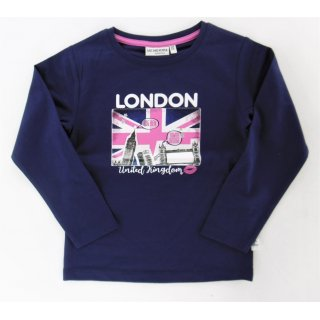 Salt and Pepper Mädchen Langarmshirt London