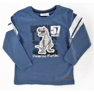 Salt and Pepper Jungen Longsleeve Dino