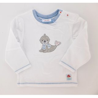 Baby Glück by Salt and Pepper Jungen Langarmshirt Robbe