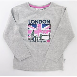 Salt and Pepper Mädchen 104/110 Langarmshirt London