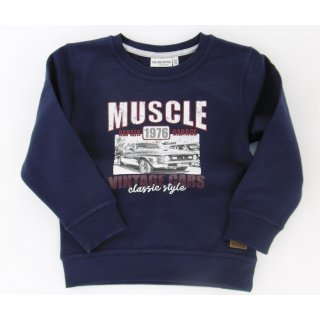 Salt and Pepper Jungen Sweatshirt Muscle  104/110
