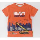 Salt and Pepper Jungen T-Shirt Kranwagen 104/110