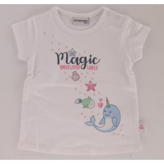 Salt and Pepper Mädchen T-Shirt Delphin