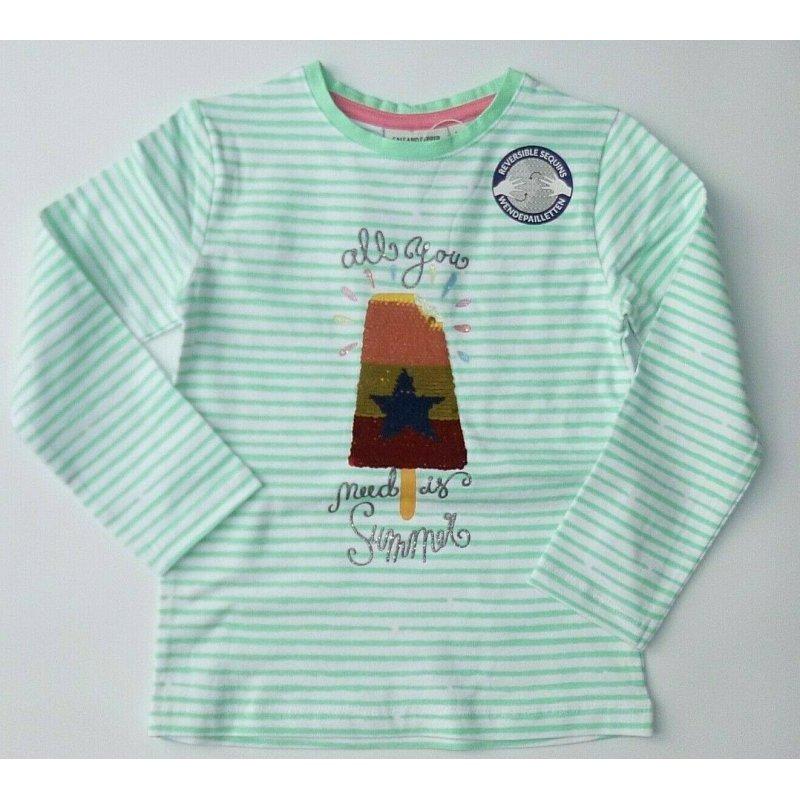Salt and Pepper Mädchen Polo-Shirt Pferd  92//98 104//110 116//122 128//134 NEU