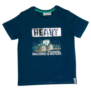 Salt and Pepper Jungen T-Shirt Traktor