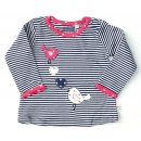 Salt and Pepper Mädchen Longsleeve 62 rosy pink