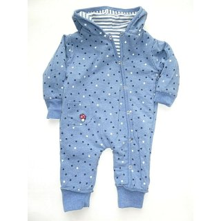 Baby Glück by Salt and Pepper Jungen Jumpsuit Wende-Overall Bagger