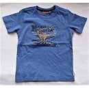 Salt and Pepper Jungen T-Shirt  104/110 strong blue